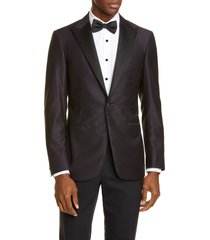 men's canali classic fit wool dinner jacket