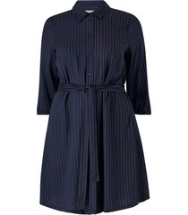 skjortklänning jrnina 3/4 sleeve abk dress