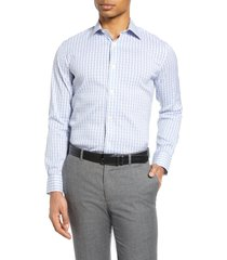 men's bonobos slim fit stretch plaid dress shirt