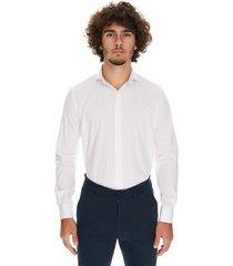 camisa blanca crow delta classics