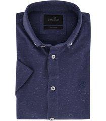 vangaurd overhemd korte mouwen donkerblauw