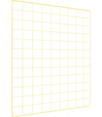 memory board quadro de fotos amarelo - 65cm x 45cm + 6 mini prendedores - amarelo - dafiti