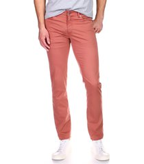 men's dl 1961 men's russell slim straight jeans, size 30 - red