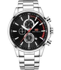 reloj análogo f0085g-2 hombre negro
