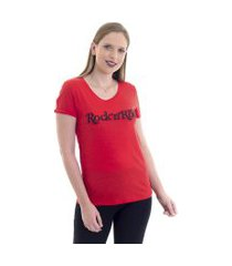 blusa kassis t-shirt vermelha