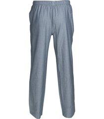 schiesser pyjamabroek grijs