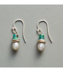 turquoise topper earrings