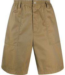 koché relaxed tailored shorts - neutrals