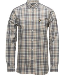 check shirt skjorta casual multi/mönstrad lyle & scott