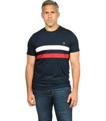 camiseta cuello redondo smith navy nuevo para hombre
