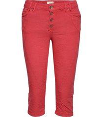 pzrosita pants trousers capri trousers röd pulz jeans