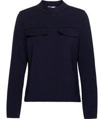 blouse-jacket zomerjas dunne jas blauw gerry weber