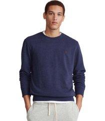 polo ralph lauren men's big & tall cotton-blend sweatshirt