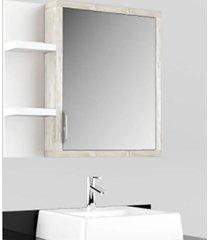 conjunto banheiro suspenso tampo vidro calcare preto lilies - multicolorido - dafiti