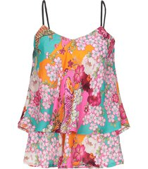 blumarine beachwear tops