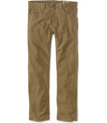 5-pocket stretch twill pants, field khaki, 35, inseam: 32 inch