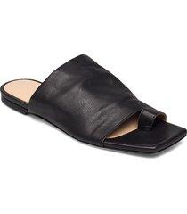 natalia shoes summer shoes flat sandals svart notabene