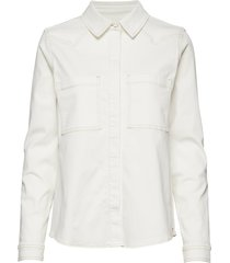 bowie ecru shirt overhemd met lange mouwen wit tomorrow