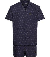 cole pyjamas blå lyle & scott