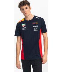 red bull racing team t-shirt voor heren, zwart, maat 3xl | puma