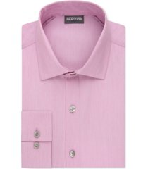 kenneth cole reaction slim-fit techni-cole flex collar solid dress shirt
