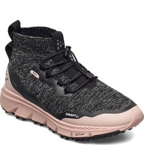 nordic fuseknit hydro mid w shoes sport shoes running shoes svart craft