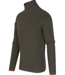 blue industry pullover coltrui kbiw19-m28 groen