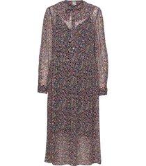 amaira knälång klänning blå baum und pferdgarten