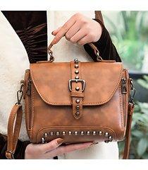borsa da spalla a tracolla con tracolla alla moda da donna