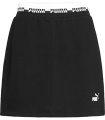 amplified skirt tr kort kjol svart puma