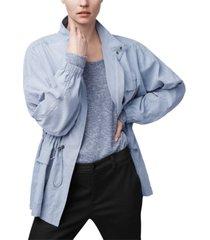 b new york zip-front anorak jacket