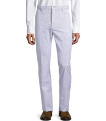zanella men's noah textured regular-fit pants - blue - size 36
