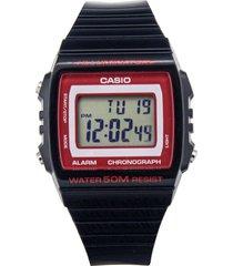 reloj casio w_215h_1a2v negro resina