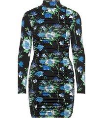 brooke dress kort klänning blå résumé