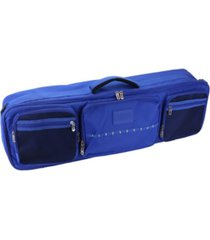 osage river fishing rod travel bag with adjustable dividers