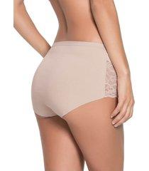 panty clasico beige leonisa 012932