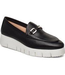 famo_sty loafers låga skor svart unisa