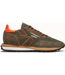 ghoud sneakers rush low colore verde