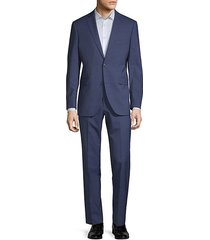 extra slim fit two-piece wool suit