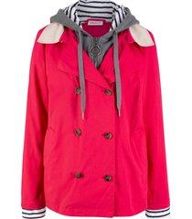 giacca leggera 2 in 1 (rosso) - john baner jeanswear