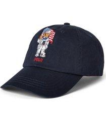 polo ralph lauren men's team usa polo bear chino ball cap