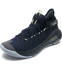 tenis basketball azules under armour ua curry 6