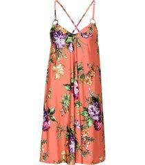 abito a fiori (arancione) - bodyflirt boutique