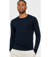 tailored originals knit - mont o neck tröjor insignia blue