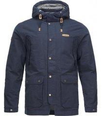 chaqueta peumo hoody jacket azul marino lippi