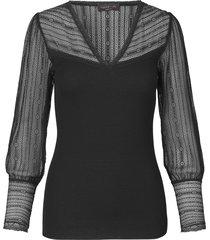 silk t-shirt v-neck regular long sleeve