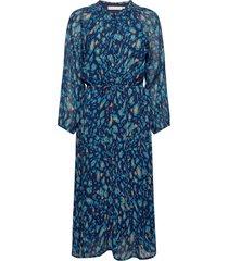 florizzaiw dress jurk knielengte blauw inwear