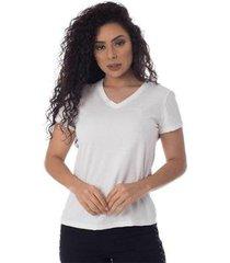 t-shirt osmoze z 602110167 branco p - feminino