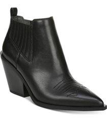 franco sarto cavallarie booties women's shoes