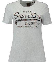 t-shirt infill grijs